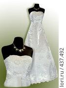 Купить «Свадебное платье», фото № 437492, снято 14 июня 2008 г. (c) Goruppa / Фотобанк Лори