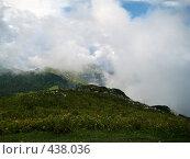 Купить «Альпийские луга Абхазии», фото № 438036, снято 22 августа 2007 г. (c) Андрей / Фотобанк Лори