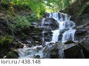 Купить «Водопад Шипот», фото № 438148, снято 21 августа 2008 г. (c) Kate Kovalenko / Фотобанк Лори