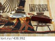 Купить «Изучение египетского папируса», фото № 438992, снято 9 января 2008 г. (c) Валерий Крывша / Фотобанк Лори