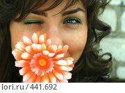 Купить «Девочка-весна», фото № 441692, снято 30 января 2008 г. (c) Короткая Юлия / Фотобанк Лори