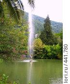 Купить «Фонтан в парке. Гагра», фото № 441780, снято 14 августа 2007 г. (c) Андрей / Фотобанк Лори