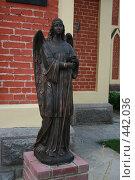 Купить «Статуя ангела», фото № 442036, снято 9 августа 2008 г. (c) Марина Шатерова / Фотобанк Лори