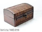 Купить «Шкатулка-сундук», фото № 443016, снято 6 сентября 2008 г. (c) Малютин Павел / Фотобанк Лори