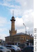 Купить «Старая пожарная часть в Сокольниках», фото № 445180, снято 20 марта 2008 г. (c) Никонор Дифотин / Фотобанк Лори