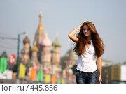 Купить «Москвичка», фото № 445856, снято 6 сентября 2008 г. (c) Андрей Аркуша / Фотобанк Лори