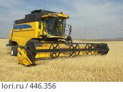 Купить «Уборка зерновых», фото № 446356, снято 7 сентября 2008 г. (c) Талдыкин Юрий / Фотобанк Лори