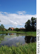 Купить «Сельский пейзаж», фото № 446520, снято 17 июля 2008 г. (c) Мария Левочкина / Фотобанк Лори