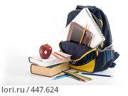 Купить «Школьные принадлежности», фото № 447624, снято 7 сентября 2008 г. (c) Лисовская Наталья / Фотобанк Лори