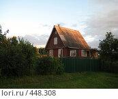 Купить «Садовый домик», фото № 448308, снято 2 августа 2008 г. (c) Андрей / Фотобанк Лори