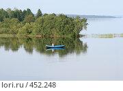 Купить «Карелия. Заонежье. На рыбалке», фото № 452248, снято 19 июля 2008 г. (c) Сергей Костин / Фотобанк Лори
