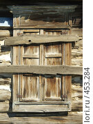 Купить «Окна деревенских домов», фото № 453284, снято 18 июня 2008 г. (c) Талдыкин Юрий / Фотобанк Лори