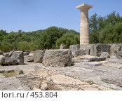 Купить «Олимпия. Греция», фото № 453804, снято 16 августа 2006 г. (c) Светлана Кудрина / Фотобанк Лори