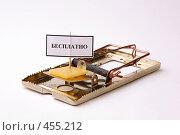 Купить «Бесплатный сыр», фото № 455212, снято 12 сентября 2008 г. (c) Игорь Веснинов / Фотобанк Лори