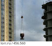 Купить «Строительная площадка», фото № 456560, снято 13 сентября 2008 г. (c) Юлия Подгорная / Фотобанк Лори