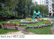 Купить «Детская площадка», фото № 457232, снято 13 сентября 2008 г. (c) Anna / Фотобанк Лори