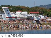 Купить «Геленджик гидроавиасалон 2008», фото № 458696, снято 4 сентября 2008 г. (c) Игорь Архипов / Фотобанк Лори