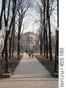 Купить «Парк Т.Шевченко (Киев)», фото № 459180, снято 24 января 2008 г. (c) Никончук Алексей / Фотобанк Лори