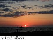 Купить «Закат на побережье черного моря», фото № 459508, снято 30 апреля 2008 г. (c) Шарабарин Антон / Фотобанк Лори