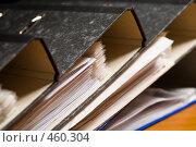 Купить «Папки с документами», фото № 460304, снято 28 июля 2006 г. (c) Кравецкий Геннадий / Фотобанк Лори
