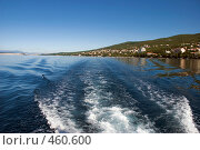Купить «След корабля», фото № 460600, снято 18 августа 2008 г. (c) Pukhov K / Фотобанк Лори