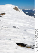 Купить «Рождение горной лавины», фото № 460760, снято 8 декабря 2019 г. (c) Юрий Брыкайло / Фотобанк Лори