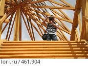 Купить «Молодой фотограф», фото № 461904, снято 27 июля 2008 г. (c) Игорь Веснинов / Фотобанк Лори