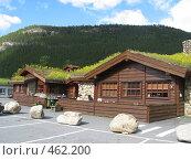 Норвегия. дома с дерном на крыше (2008 год). Стоковое фото, фотограф Anna Marklund / Фотобанк Лори