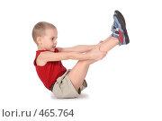 Купить «Мальчик практикует йогу», фото № 465764, снято 16 июля 2019 г. (c) Losevsky Pavel / Фотобанк Лори