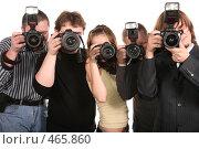 Купить «Фотографы», фото № 465860, снято 15 декабря 2018 г. (c) Losevsky Pavel / Фотобанк Лори