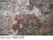 Купить «Текстура старой стены», фото № 466016, снято 22 августа 2019 г. (c) Losevsky Pavel / Фотобанк Лори