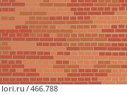 Купить «Рисунок кирпичной стены Московского Кремля», иллюстрация № 466788 (c) Losevsky Pavel / Фотобанк Лори