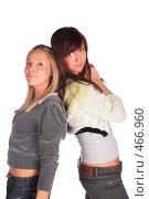 Купить «Две девушки», фото № 466960, снято 5 июля 2020 г. (c) Losevsky Pavel / Фотобанк Лори