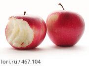Купить «Два яблока», фото № 467104, снято 16 сентября 2008 г. (c) Бондаренко Олеся / Фотобанк Лори