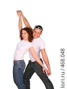 Купить «Танцующая пара», фото № 468048, снято 15 декабря 2018 г. (c) Losevsky Pavel / Фотобанк Лори