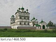 Купить «Николо-Вяжищский женский монастырь», фото № 468500, снято 7 сентября 2008 г. (c) Александр Секретарев / Фотобанк Лори