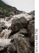 Купить «Горная речка», фото № 468736, снято 30 июля 2008 г. (c) Антон Щербина / Фотобанк Лори