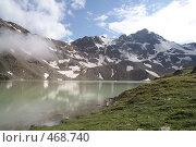 Купить «Горное озеро», фото № 468740, снято 5 августа 2008 г. (c) Антон Щербина / Фотобанк Лори