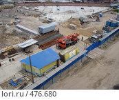 Строительная площадка (2008 год). Редакционное фото, фотограф Лариса Дамьян / Фотобанк Лори