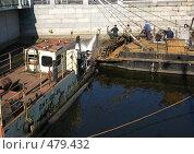 Купить «Углубление Обводного канала. Петербург», фото № 479432, снято 22 сентября 2008 г. (c) Юлия Подгорная / Фотобанк Лори