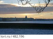Купить «Городской пейзаж. Санкт-Петербург», фото № 482196, снято 8 января 2006 г. (c) Александр Секретарев / Фотобанк Лори