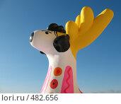 Купить «Олень-золотые рога. Дымковская игрушка», фото № 482656, снято 27 сентября 2008 г. (c) Заноза-Ру / Фотобанк Лори