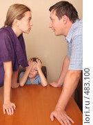 Купить «Конфликт в семье», фото № 483100, снято 28 сентября 2007 г. (c) Гладских Татьяна / Фотобанк Лори