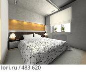 Интерьер спальни, иллюстрация № 483620 (c) Hemul / Фотобанк Лори