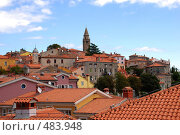 Лабин, Хорватия (2008 год). Стоковое фото, фотограф Лифанцева Елена / Фотобанк Лори
