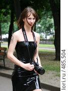 Купить «Фотограф», фото № 485504, снято 28 июня 2008 г. (c) Варвара Воронова / Фотобанк Лори