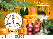 Купить «Новогодний натюрморт», фото № 485908, снято 27 сентября 2008 г. (c) Мельников Дмитрий / Фотобанк Лори