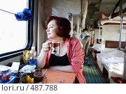 Купить «Плацкартный вагон поезда», эксклюзивное фото № 487788, снято 6 сентября 2008 г. (c) Дмитрий Неумоин / Фотобанк Лори
