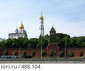 Купить «Кремлевская набережная. Москва», фото № 488104, снято 9 июня 2008 г. (c) Юлия Подгорная / Фотобанк Лори