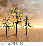 Купить «Осень», иллюстрация № 489160 (c) ElenArt / Фотобанк Лори